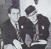 Simonov and mother